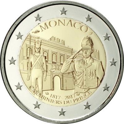 Монако - 200-летие Роты княжеских карабинеров