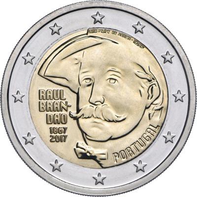 Португалия - 150 лет со дня рождения Раула Брандао