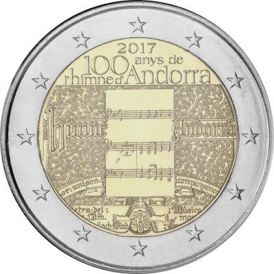 Андорра - 100-летие гимна Андорры