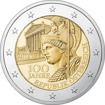 Австрия - 100 лет Австрийской Республике