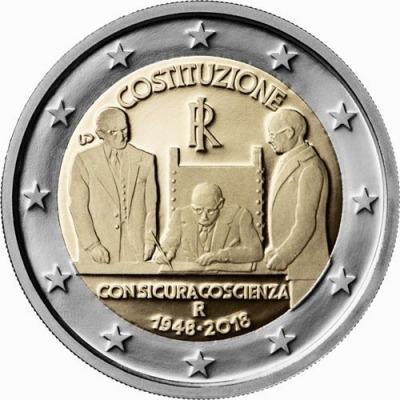 Италия - 70-летие конституции Итальянской Республики
