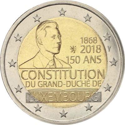 Люксембург - 150-летие Конституции Люксембурга