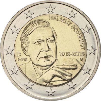 Германия - 100 лет со дня рождения Гельмута Шмидта