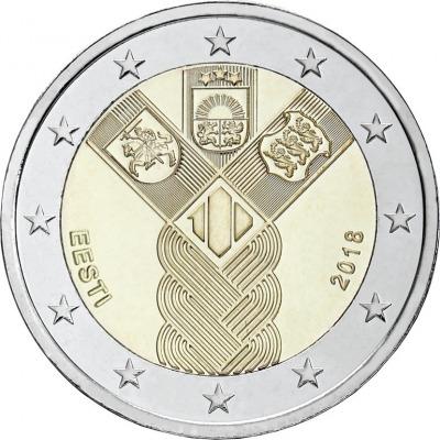 Эстония - 100-летие независимости прибалтийских государств