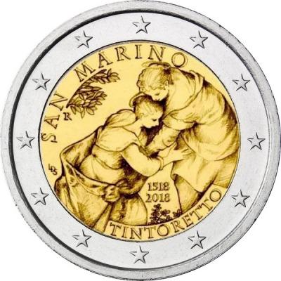 Сан-Марино - 500 лет со дня рождения художника Тинторетто