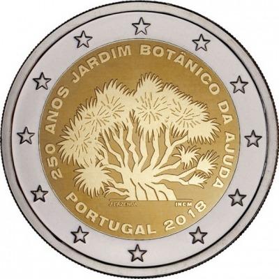 Португалия - 250-летие Ботанического сада Ажуда в Лиссабоне