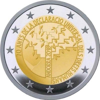 Андорра - 70-летие принятия Всеобщей декларации прав человека