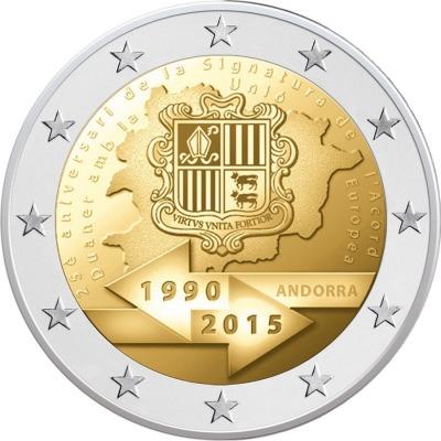 Андорра - 25-летие подписания таможенного соглашения с Евросоюзом