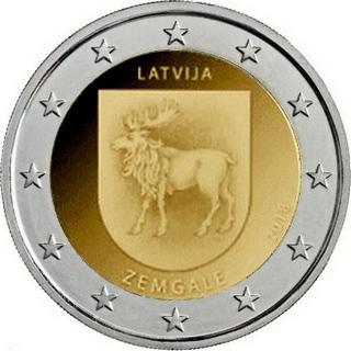 Латвия - Историческая область Земгале