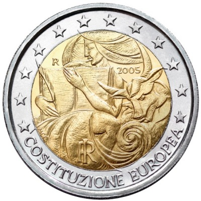 Италия - 1-я годовщина подписания европейской конституции