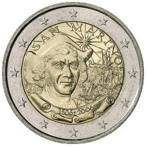 Сан Марино - 500-я годовщина дня смерти Христофора Колумба