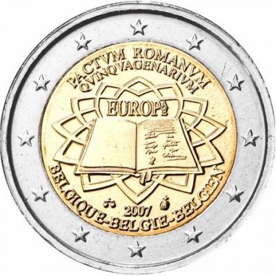Бельгия - 50-летие Римского договора