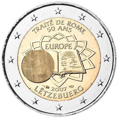 Люксембург - 50-летие Римского договора