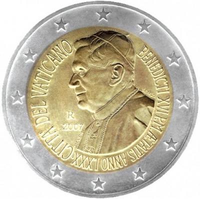Ватикан - 80-летие Папы Бенедикта XVI