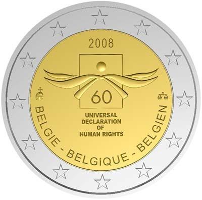 Бельгия - 60-летие Декларации по правам человека
