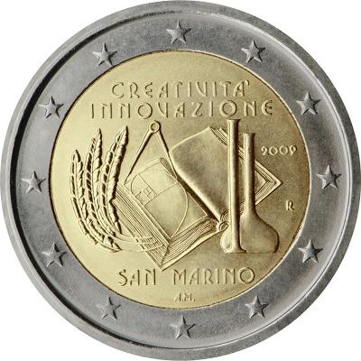 Сан Марино - Европейский год творчества и инноваций