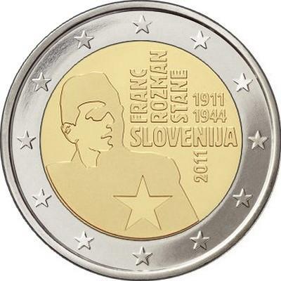 Словения - 100 лет со дня рождения Франца Розмана