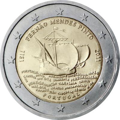 Португалия - 500 лет со дня рождения Фернана Мендеса Пинто