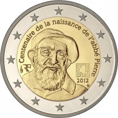 Франция - 100 лет со дня рождения аббата Пьера