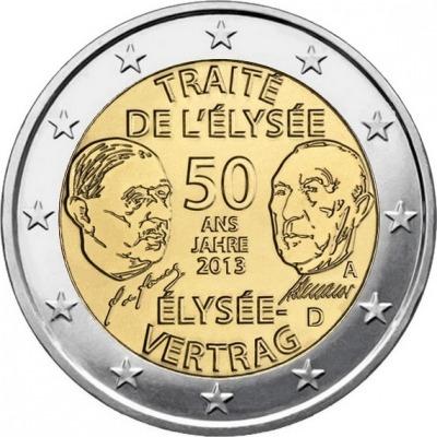 Германия - 50 лет подписания Елисейского договора