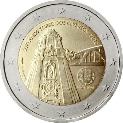Португалия - 250 лет церкви Клеригуш