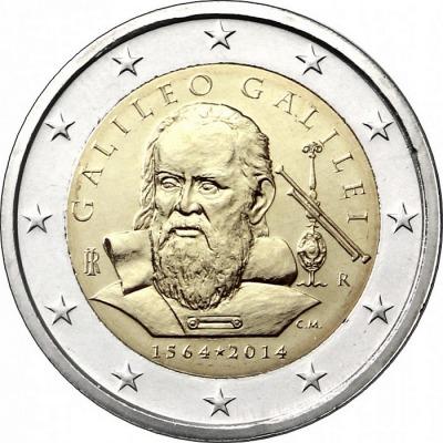 Италия - 250 лет со дня рождения Галилео Галилея