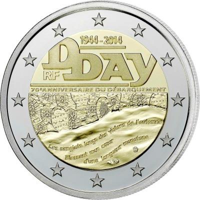 Франция - 70 лет высадке в Нормандии (D-Day)