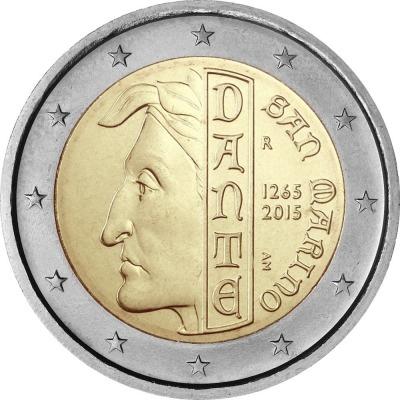 Сан Марино - 750-летие со дня рождения Данте Алигьери
