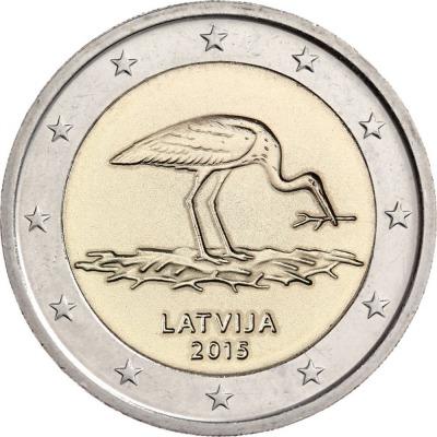 Латвия - Аист