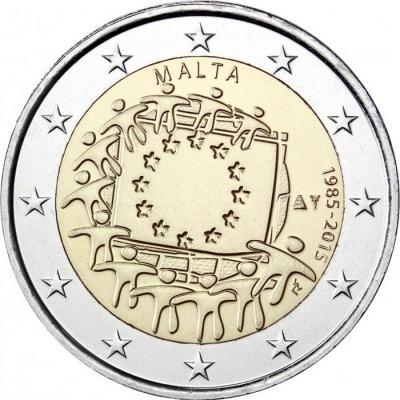 Мальта - 30 лет флагу ЕС
