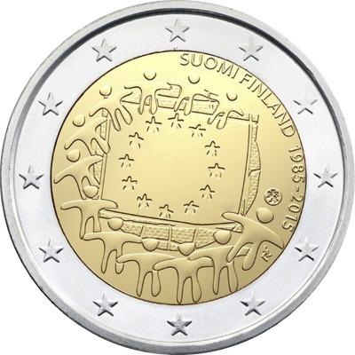 Финляндия - 30 лет флагу ЕС