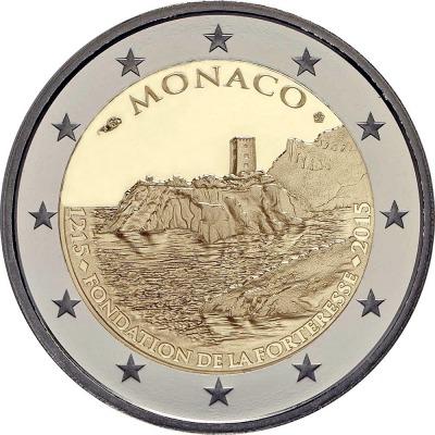 Монако - 800-летие строительства первого замка на скале
