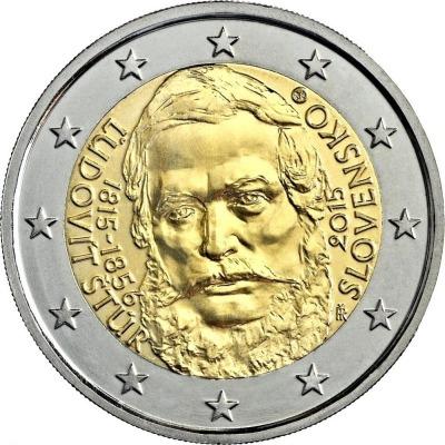 Словакия - 200-летие со дня рождения Луи Стур
